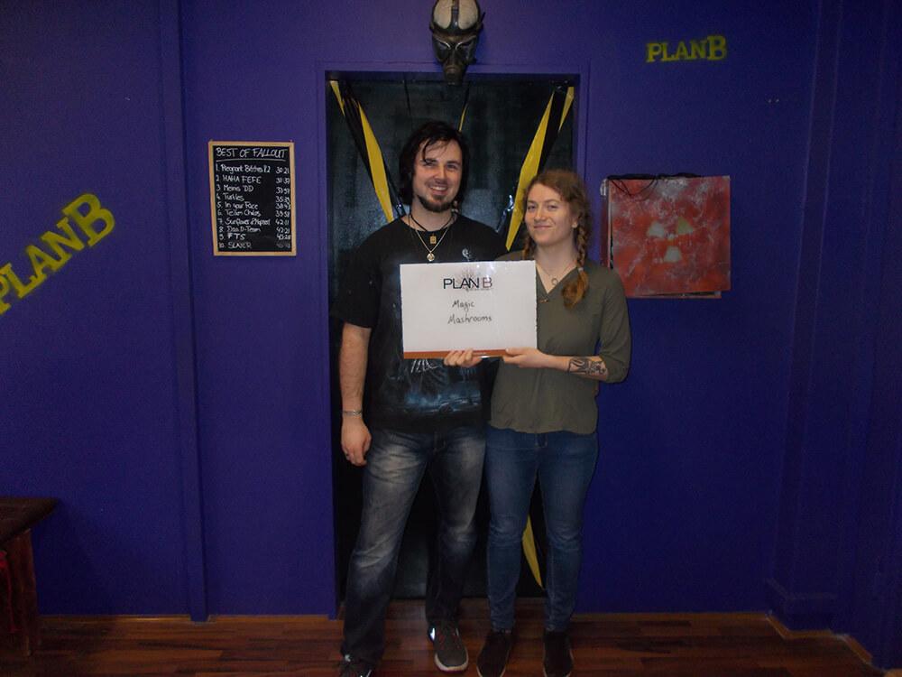 Gruppenbilder vom 01.01.2017-06.01.2017 von Plan B Escape Game Stuttgart - 1   PlanB Escape