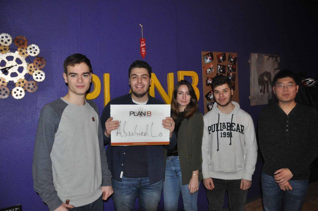 Gruppenbilder KW 9 – 2018 Karlsruhe - 9 | PlanB Escape