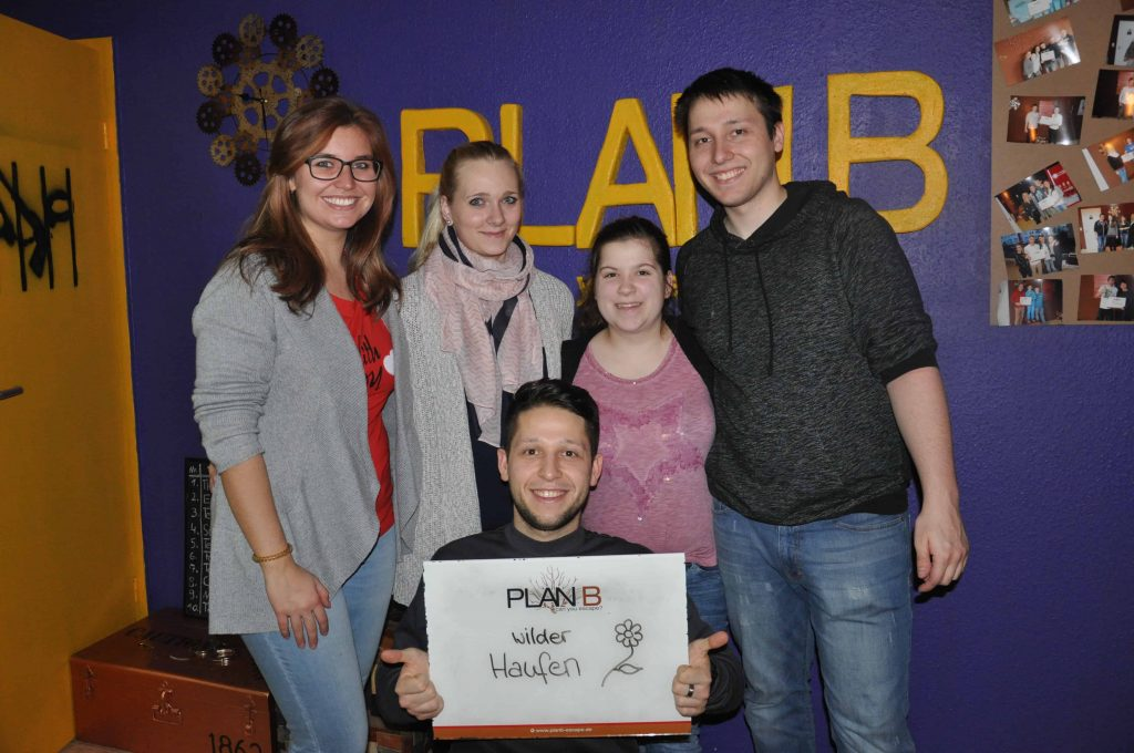 Gruppenbilder KW 10 – 2018 Karlsruhe - 11 | PlanB Escape